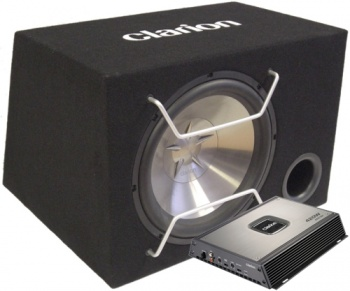 Amplificator Clarion APX 2121 + Subwoofer SW3013B