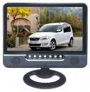 Monitor auto LCD 9.5 Inch cu Tuner TV, Slot USB si Card SD