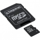 Card microsd 4G cu adaptor Kingston