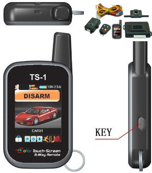 Alarma auto Maat 7500 TS pager color