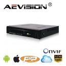 NVR 4 Canale full HD AEVISION AE-N6100-4EL
