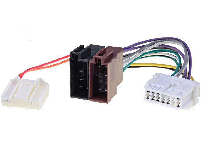 conector radio dacia renault adaptor iso. Black Bedroom Furniture Sets. Home Design Ideas