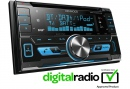 Kenwood DPX-7000DAB 2DIN DAB-Tuner / Bluetooth / USB / CD-Receiver