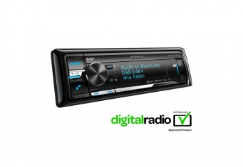 Kenwood KDC-BT73DAB CD/USB-Receiver with DAB/DAB+-Tuner & Bluetooth Built-in