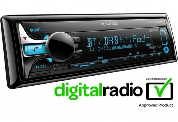 Kenwood KDC-X7000DAB CD-Receiver with DAB tuner & Bluetooth Built-in