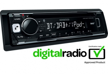 Kenwood KDC-BT700DAB CD-Receiver with DAB tuner & Bluetooth Built-in
