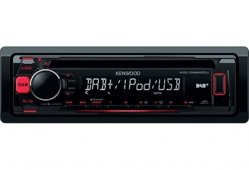 Kenwood KDC-DAB400U CD-Receiver with DAB+ tuner Built-in