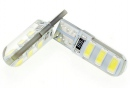 Set led W5W / T10 6smd canbus led 5730 silica gel