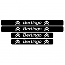 Set protectie prag Citroen Berlingo sticker auto
