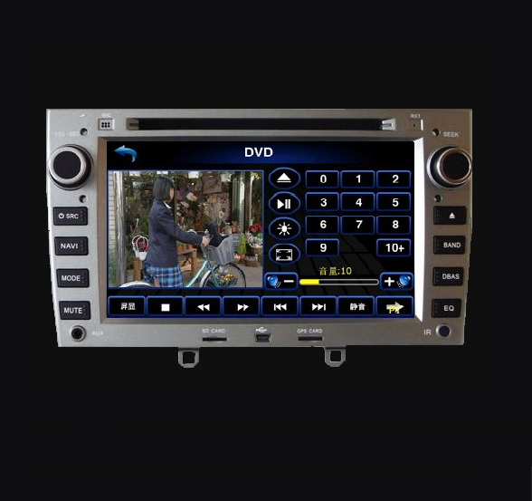 dvd multimedia gps peugeot 308 navigatie. Black Bedroom Furniture Sets. Home Design Ideas