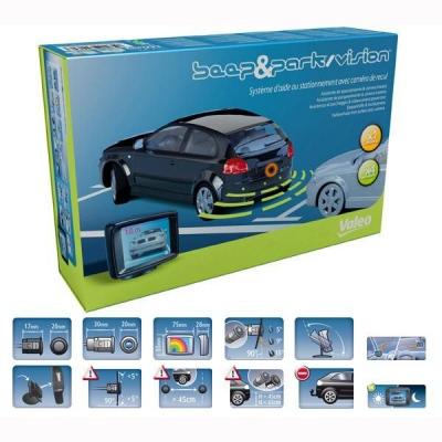 valeo 632060 kit senzori parcare si camera marsarier. Black Bedroom Furniture Sets. Home Design Ideas